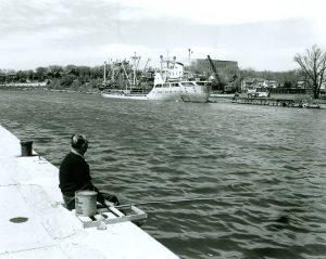 May 1959 - in Sheboygan Harbor (Historical Society)