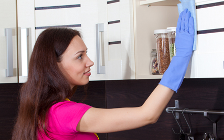 Practice food safety by sanitizing your home