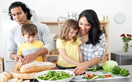 Stay at Home Tips: Cooking with Kids