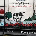 Organic Valley Co-op truck at the energy fair