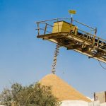 frac sand mine conveyor belt