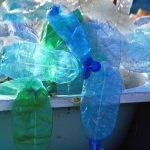 empty plastic bottles