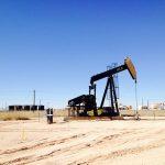 fracking well head