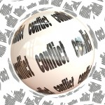 Image of a conflict ball