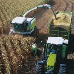 Image of chopping corn silage