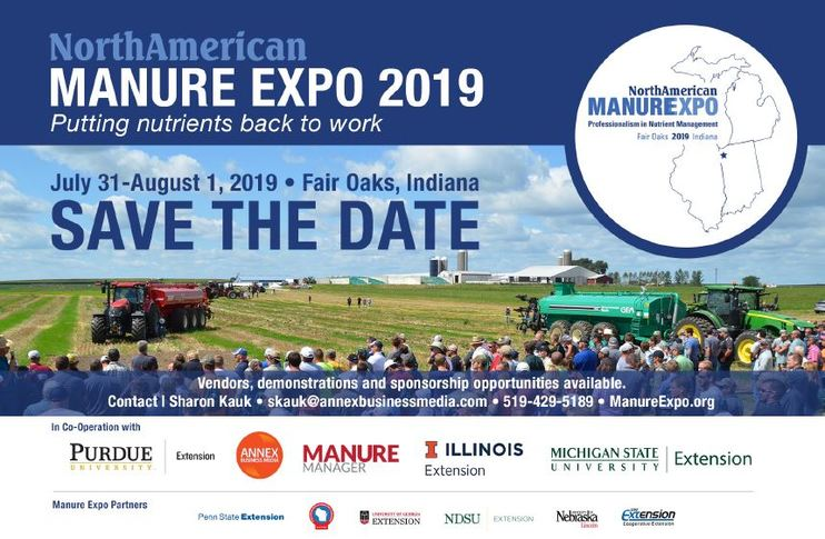 Manure Expo save the date banner