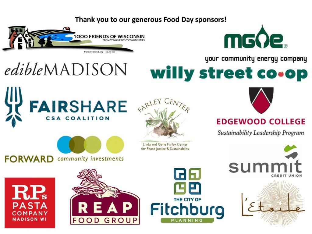 Food Day Sponsors