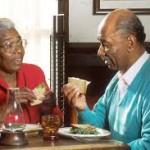 older adults eating