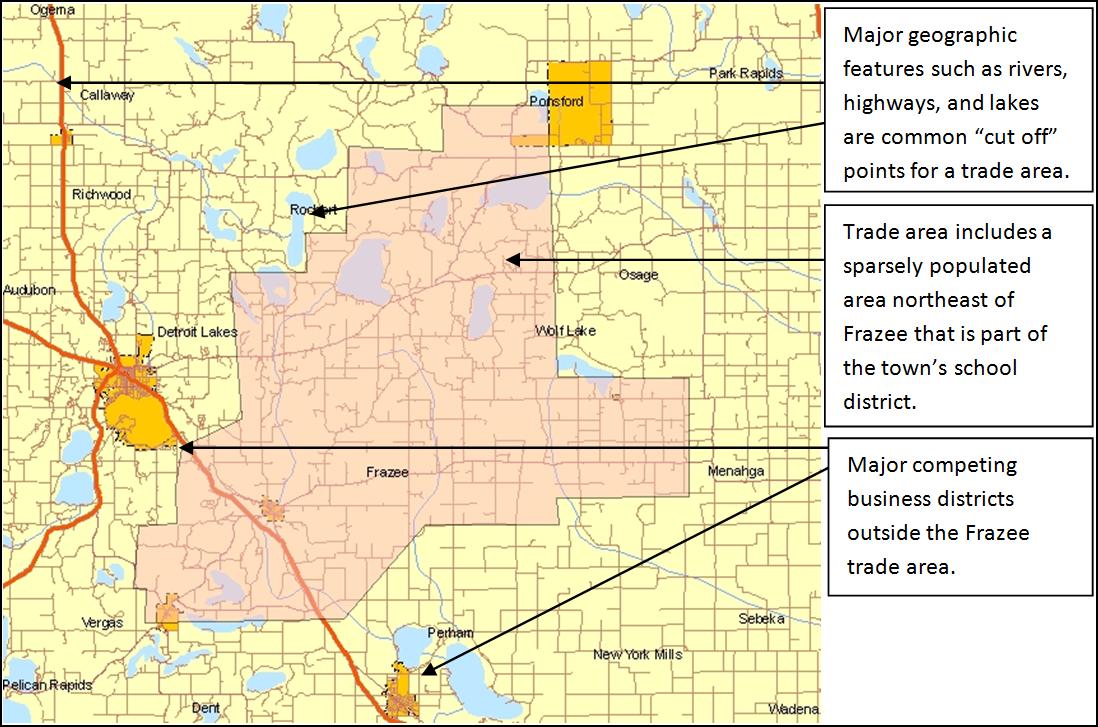 Trade Area Analysis – Downtown Market Analysis