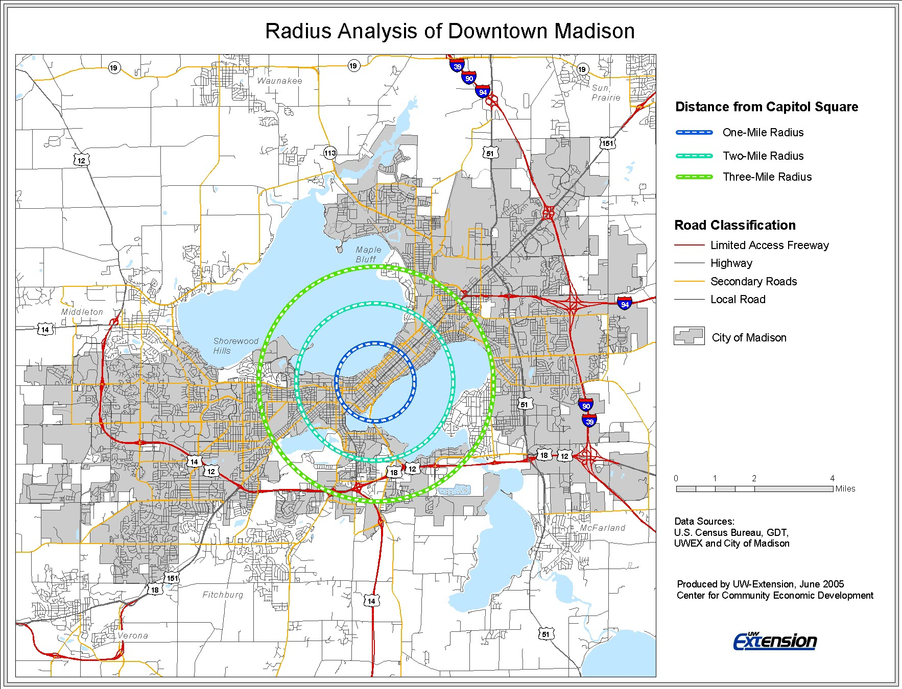 Trade Area Analysis – Downtown Market Analysis