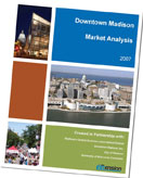 Downtown Market Analysis cover for Madison, WI
