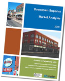 Cover of Downtown Market Analysis for Superior, WI