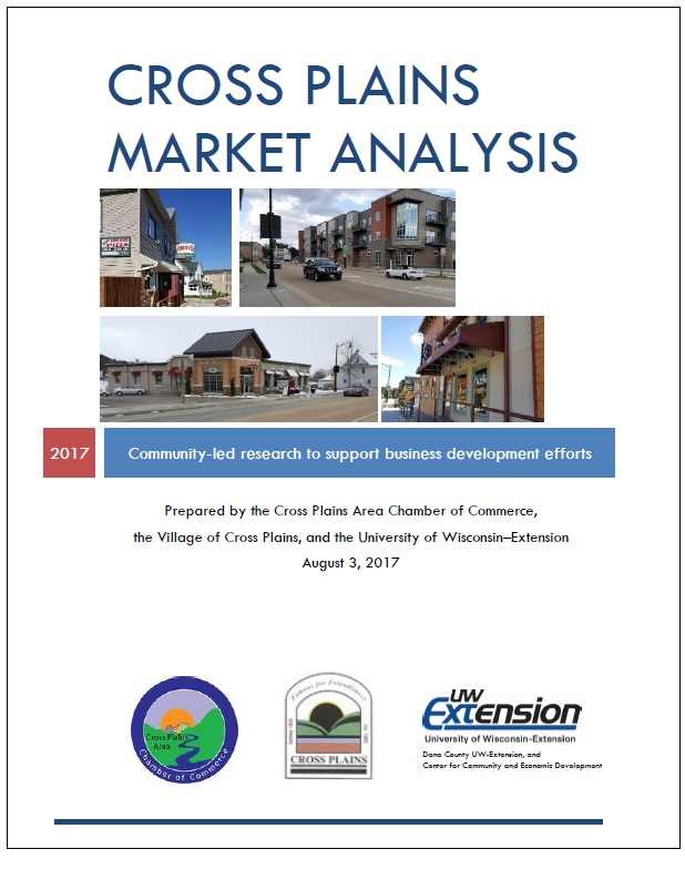 Wisconsin Example Studies  Downtown Market Analysis