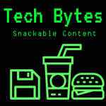Tech Bytes computer screen logo