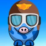 Aviator Hilda Blue Square