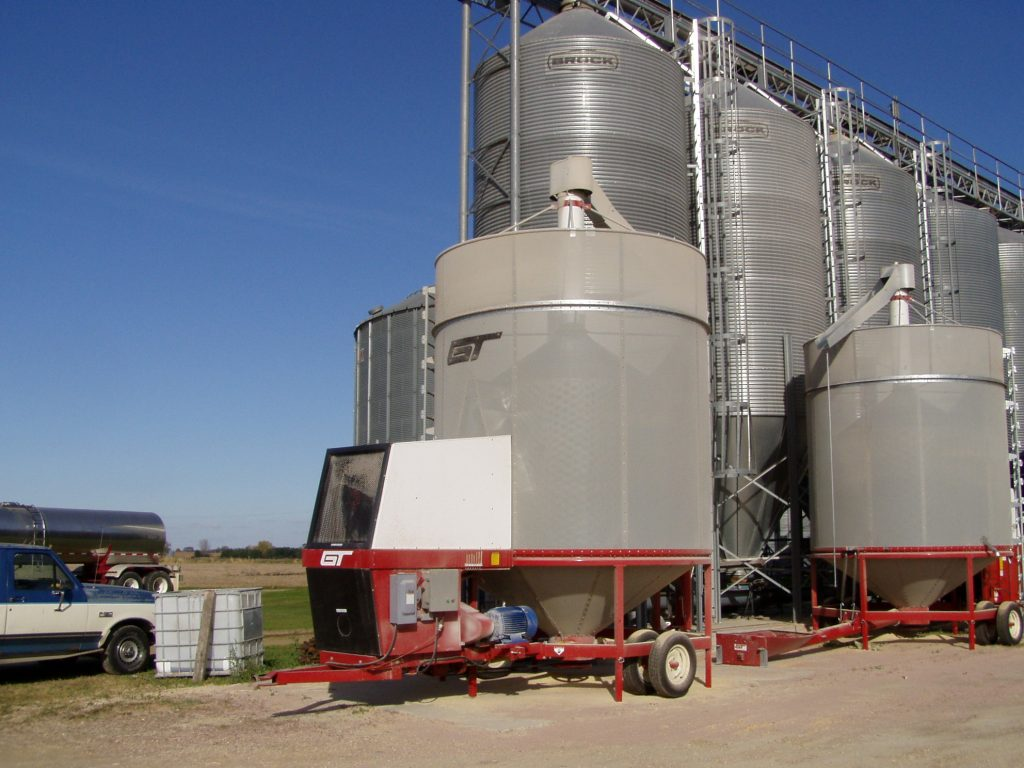 Recirculating Batch Dryer