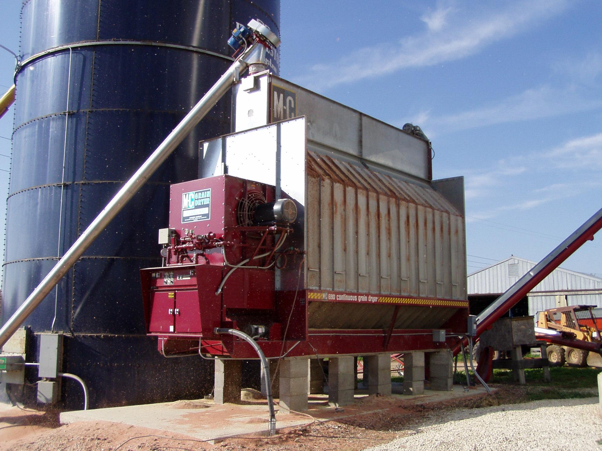 Continuous Flow Grain Dryers Wisconsin Energy Efficiency