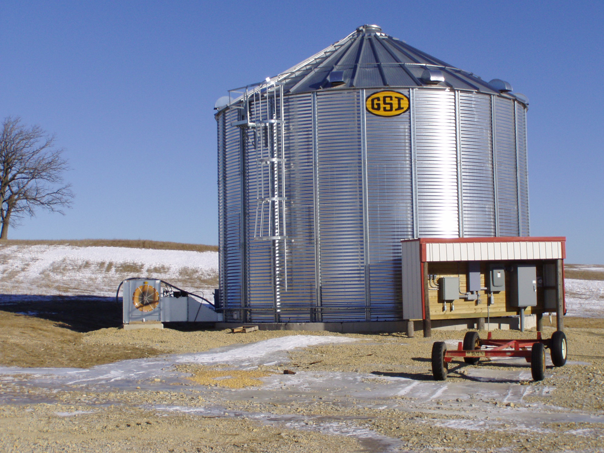 Batch Grain Dryers – Wisconsin Energy Efficiency and