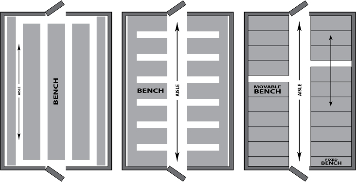 space-utilization-bench-layouts