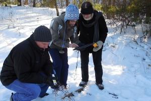 Adult technology workshop in winter