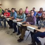 Students at Dairy Quiz Bowl