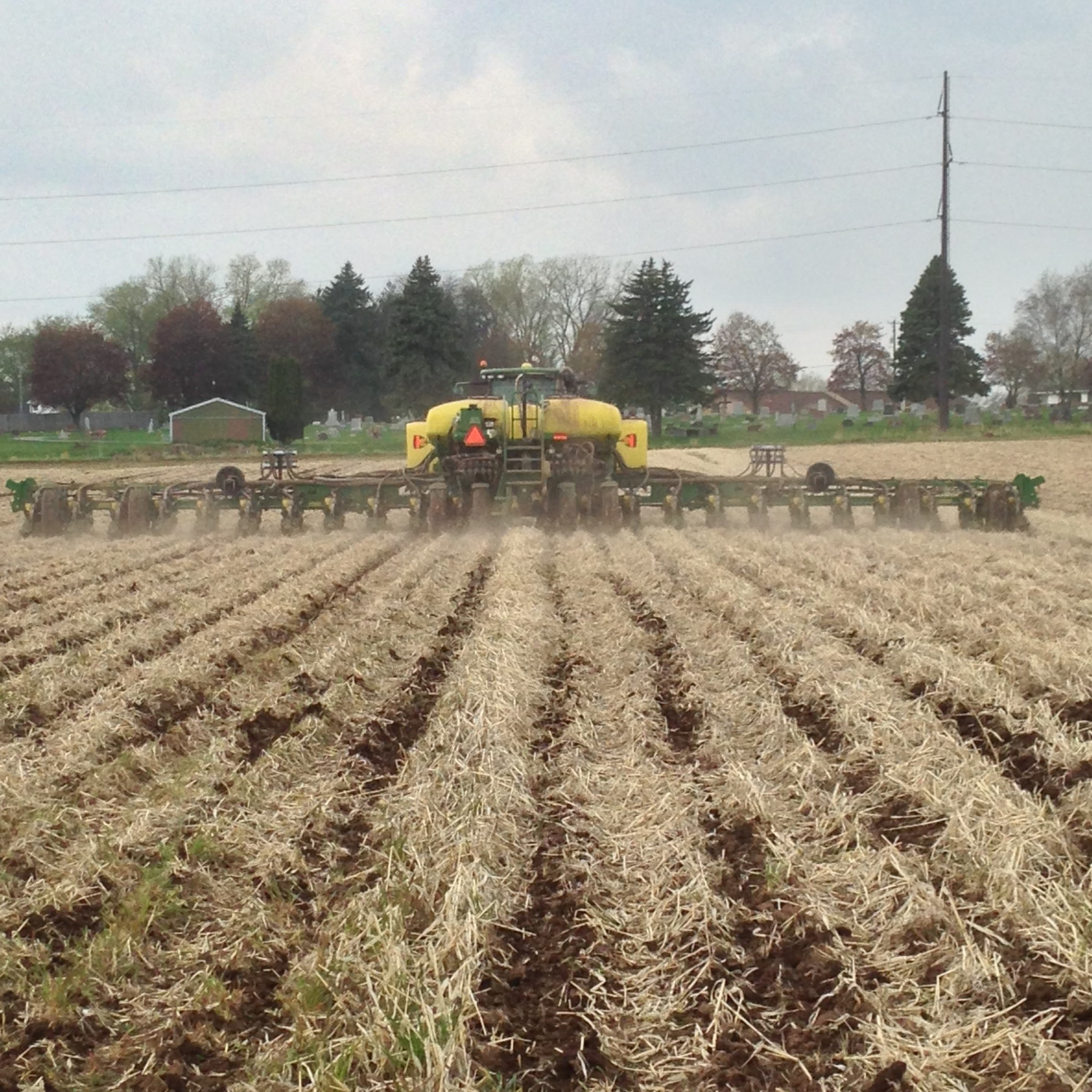 Minimal soil disturbance conservation tillage lower fox for Soil as a system