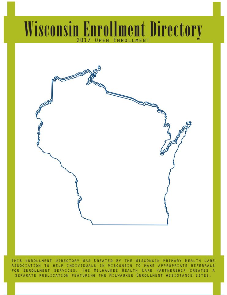 Wisconsin Enrollment Directory