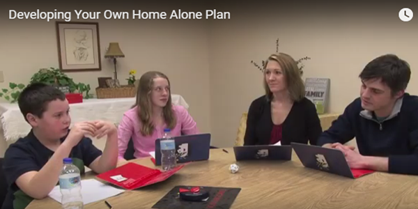 Developing Your Own Home Alone Plan