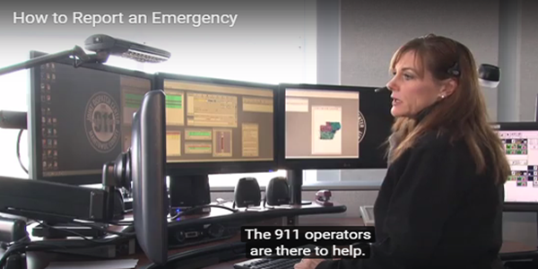 How to Report an Emergency