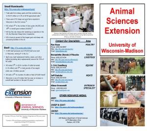 Extension Animal Sciences Team Brochure 416