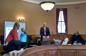 Dan Buttery speaking to Leadership Waupaca County Participants