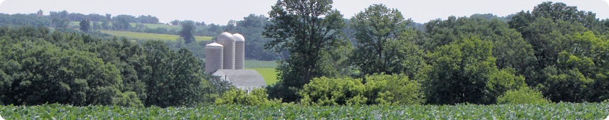 Wisconsin farm field, Photo Credit: Jeffrey J. Strobel