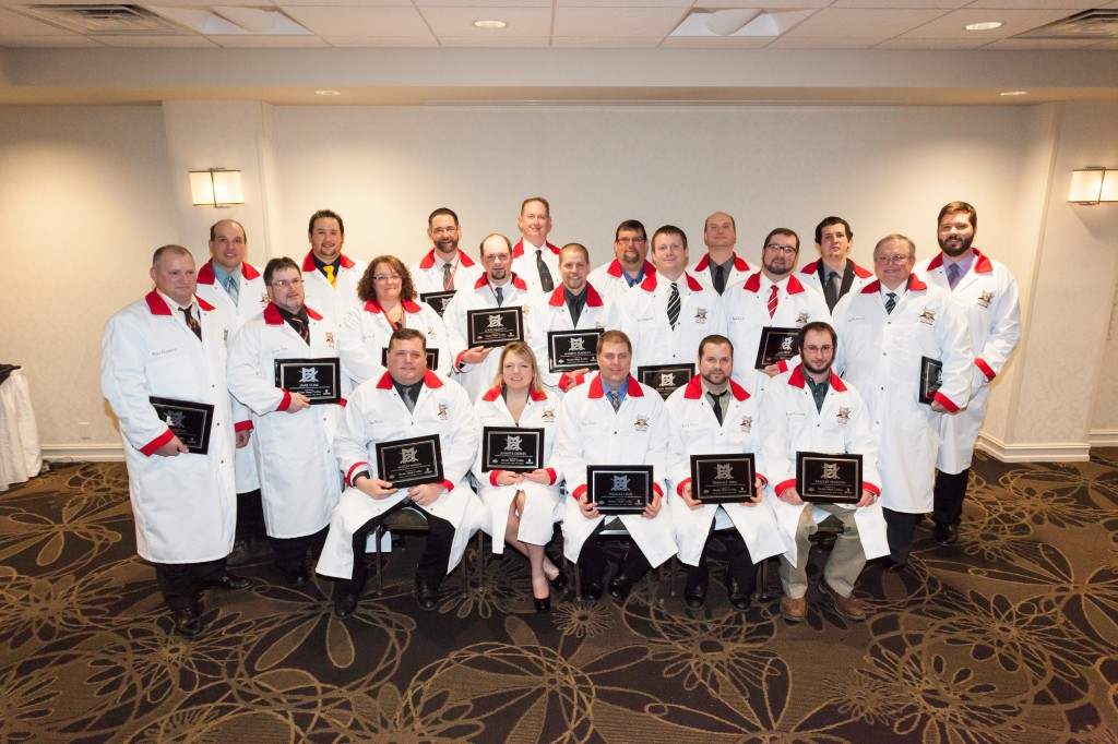 The 2014 Class of Master Meat Crafter Graduates.