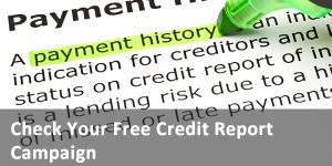 check your free credit report link