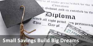 Small Savings Build Big dreams link