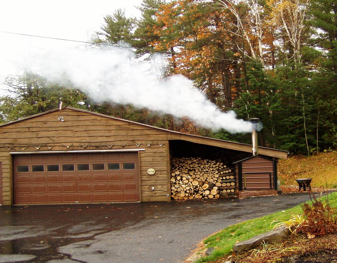 seasonal smoke from outdoor wood fired boilers poses health risk