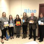 Extension staff, First Book Representatives at the Dane County Jail