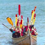 Paddle salute