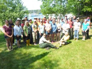 2016 G-WOW Institute participants on Stockton Island