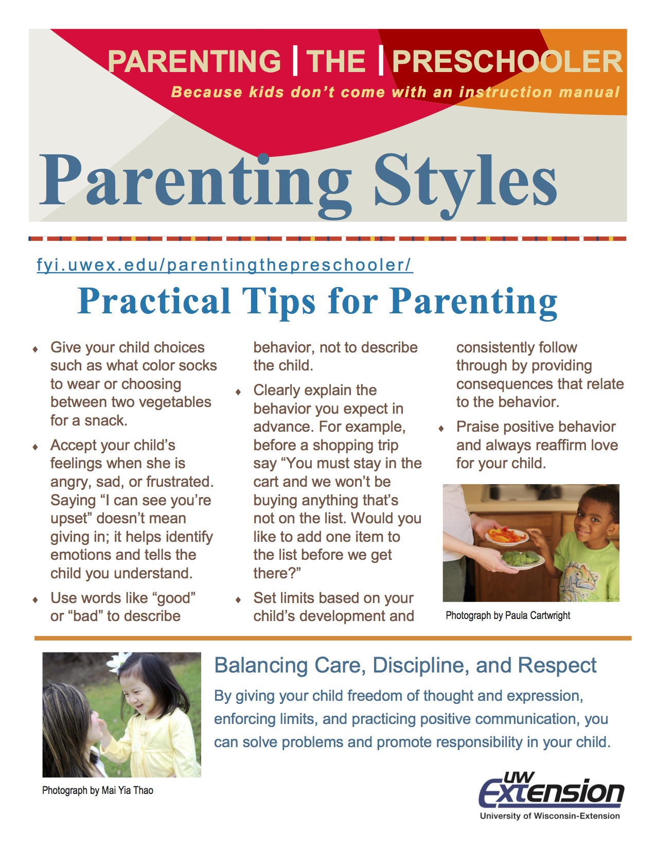 the parenting style How does your parenting style affect your kids which of the four types of parents tend to raise the most successful children posted oct 02, 2014.