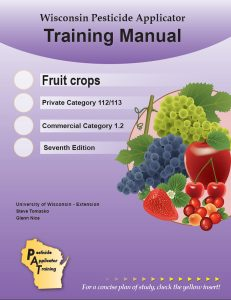 Cover of the Fruit Crops, Category 1.2/112/113, manual.