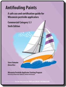 Cover of the Antifouling Paints, Category 5.1, manual.