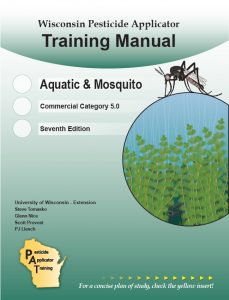 Cover of the Aquatic & Mosquito, Category 5.0, manual.