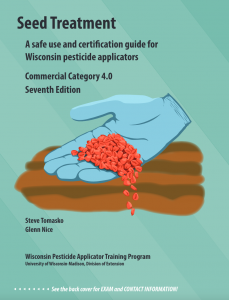 Cover of the Seed Treatment, Category 4.0, manual.