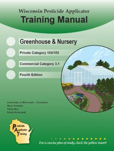 Cover of the Greenhouse & Nursery, Category 3.1/104/105, manual.