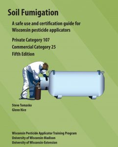 Cover of the Soil Fumigation, Category 25/107, manual.