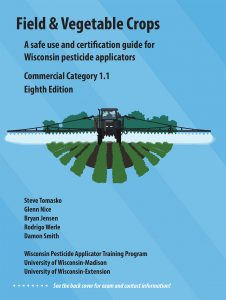 Category 1.1, Field & Vegetable Crops manual cover.