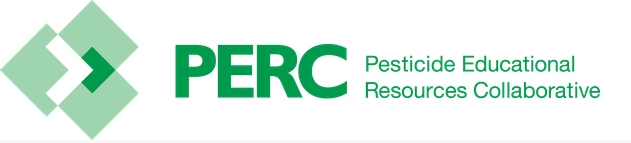 Pesticide Educational Resources Collaborative (PERC) banner and logo.
