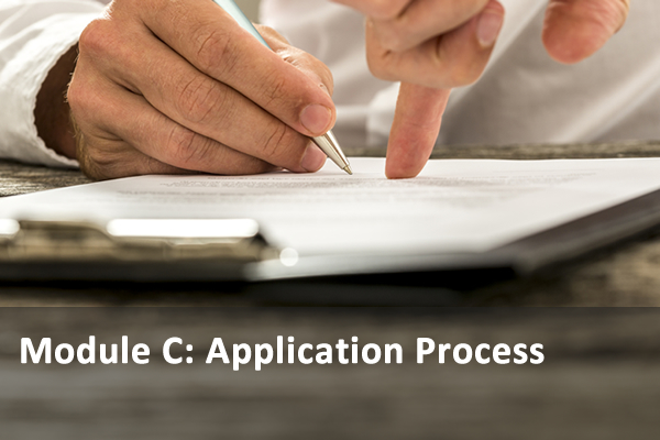 Module C: Application Process
