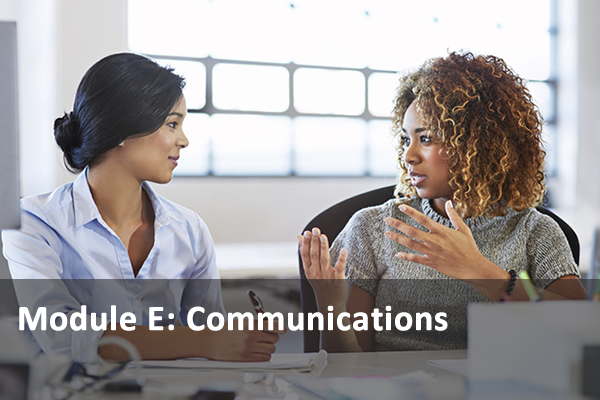 Module E: Communications